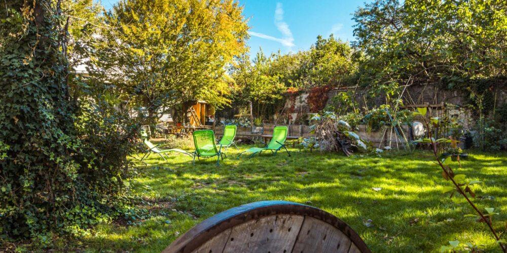 Petit jardin Villeurbanne